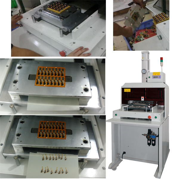 PCB Punch Machine For PCB Assembly
