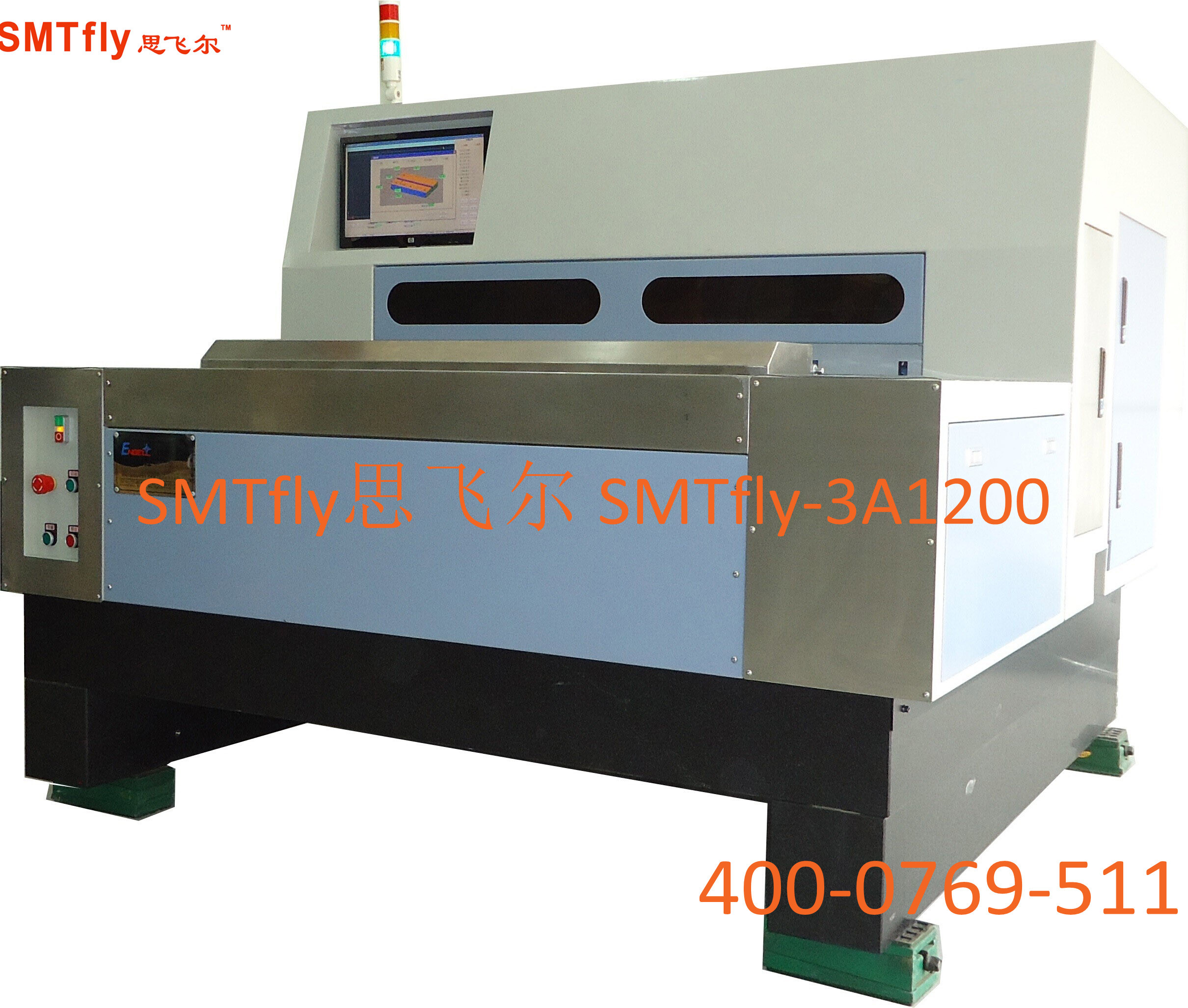 PCBA V-cut Machine, SMTfly-3A1200