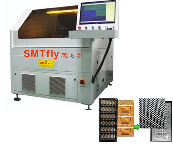 Laser PCB Cutting Equipment- FPC Laser Depaneling Machine,SMTfly-5S