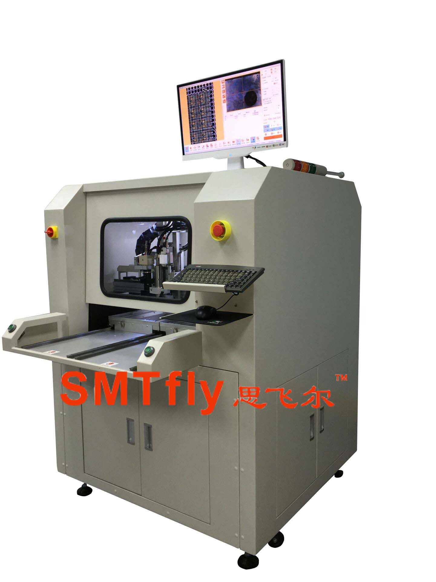 PCB drilling equipment, SMTfly-F02
