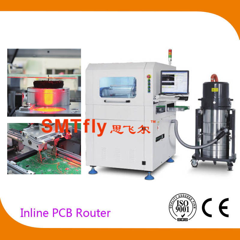 Inline PCB Depaneling Router, SMTfly-F03