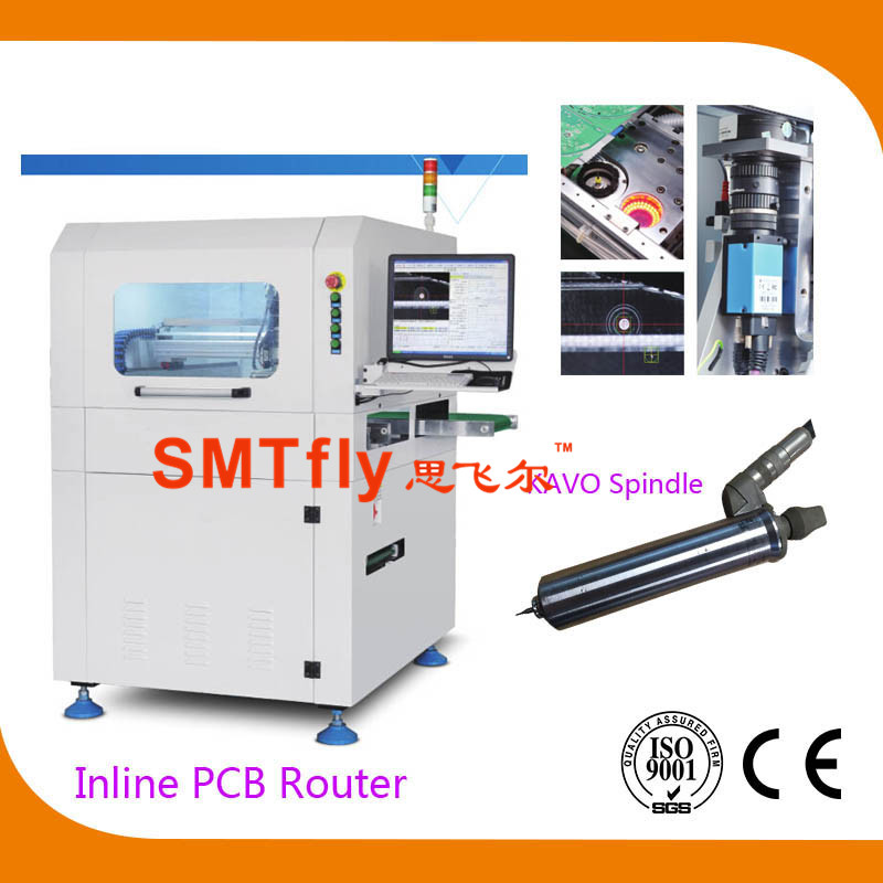 PCB Cutter Machine for PCB Panel with Milling Joints,SMTfly-F03