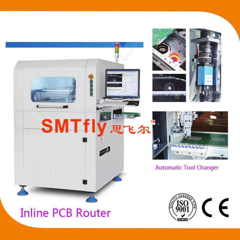 Printed Circuit Boards PCB Separator-Inline PCB Router,SMTfly-F03