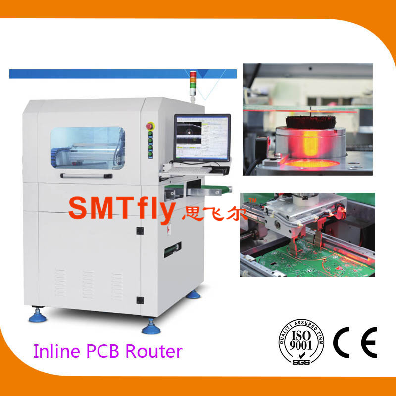 Inline PCB Router,PCB Depanelers,SMTfly-F03